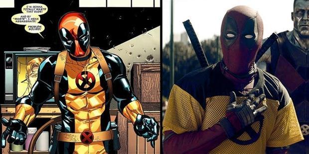 Hết xám thì đến màu vàng, và lần này là bộ suit X-Men.