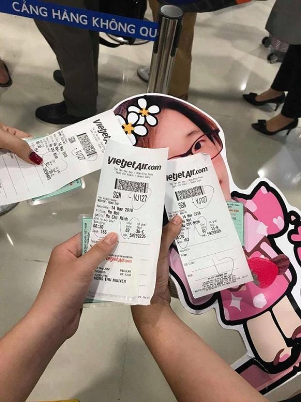 Chúng mình cùng check-in lên máy bay nào