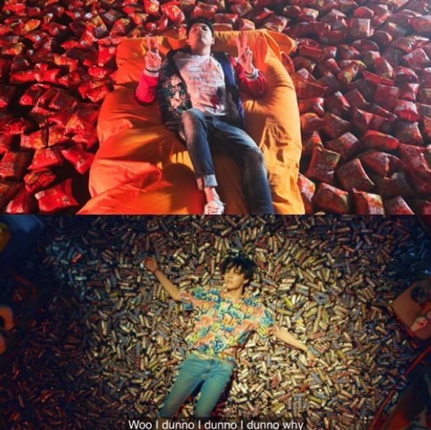Hai cảnh quay có khá nhiều điểm tương đồng.
