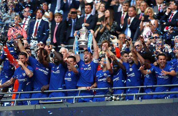 """Chelsea trở thành """"tân vương"""" FA Cup."""