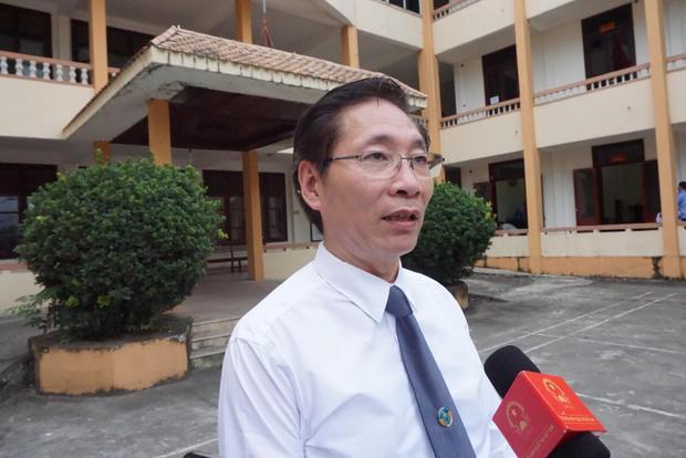 Luật sư Nguyễn Văn Chiến, người bào chữa cho bị cáo Hoàng Công Lương.