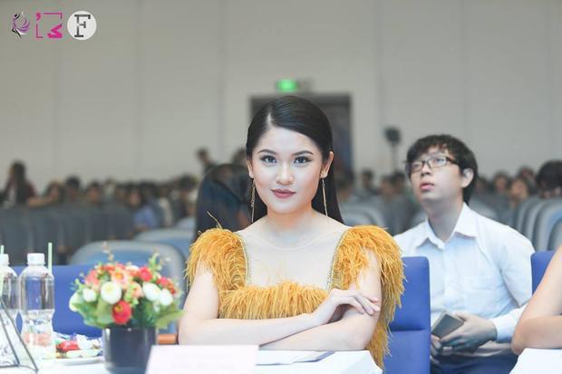 Á hậu Việt Nam 2016 Thuỳ Dung cũng đồng ngồi ghế nóng giám khảo.