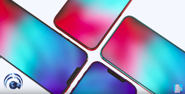 """ConceptCreator hình dung chiếc iPhone SE2 sẽ có thiết kế """"tai thỏ"""" và màn hình tràn viền giống iPhone X. Bằng cách này, iPhone SE2 có thể có kích thước thân máy tổng thể tương tương iPhone SE đời đầu nhưng không gian trải nghiệm màn hình lại lớn hơn."""