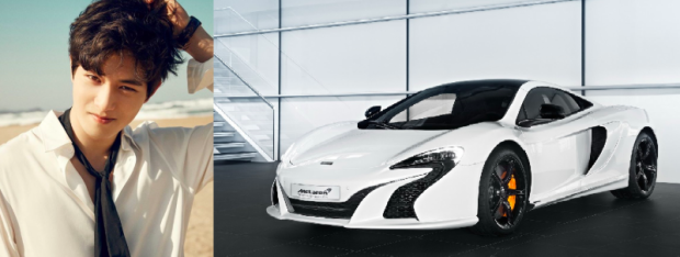 Jonghyun (CNBLUE) sở hữu chiếc xe thể thao quyến rũ McLaren 650S FAB Design với ía được cho là khoảng 340.000 USD.