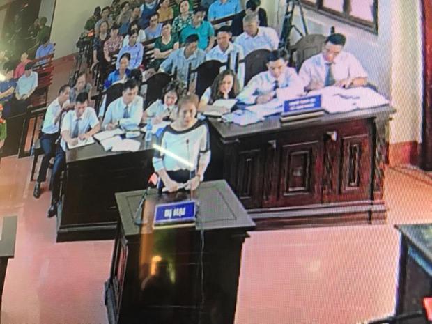 Chị Tuyết xin HĐXX xem xét cho bị cáo Lương vô tội.