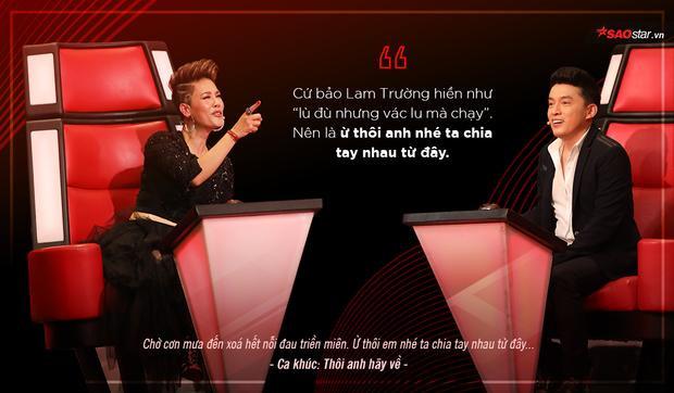 HLV Thu Phương thâm thúy chưa, dùng bài hát từng song ca với Lam Trường để… chia tay Lam Trường.
