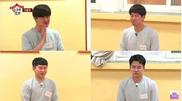 Cuộc thi ai nhịn cười lâu hơn của 4 thành viên Master In The House.