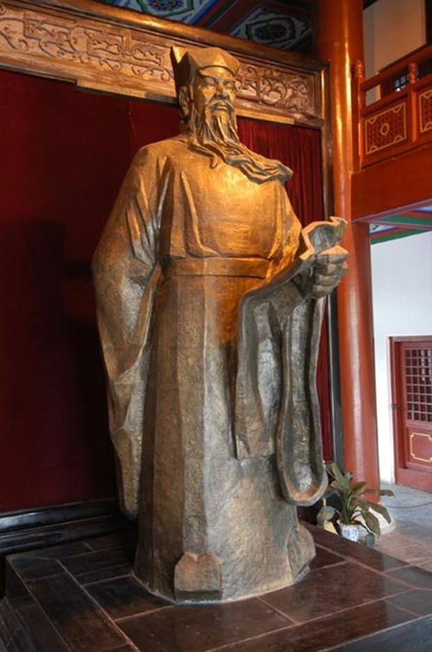 Tượng thờ Bao Công. Ảnh: Baidu