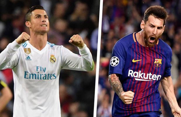 Ronaldo đã bị Messi bỏ xa ở thành tích ghi bàn tại La Liga mùa này.