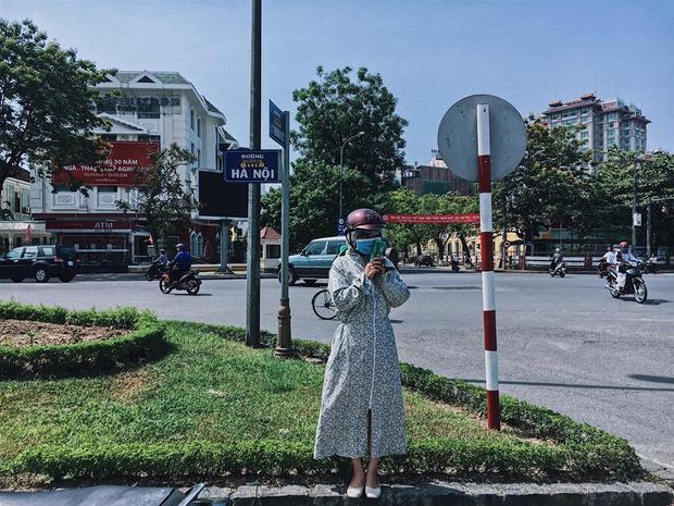 Góc phố là địa điểm quen thuộc của ninja nên check in là chuyện xưa như diễm. Ảnh: Nguyễn Vân.