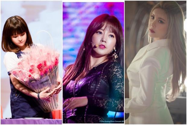"""Riêng 3 cô gái thuộc """"hội phụ lão"""" của T-ara vẫn lặn mất tăm."""