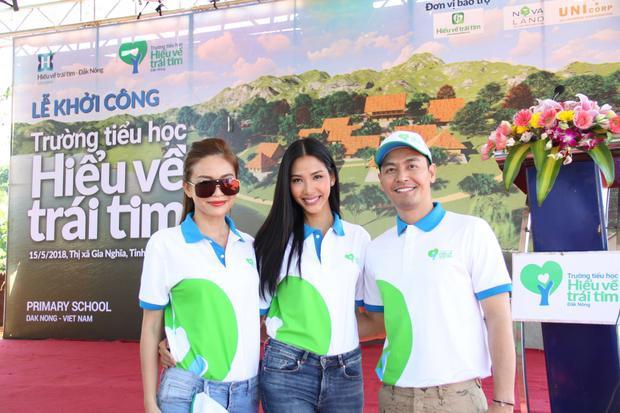 Top 3 Hoa hậu Hoàn vũ Việt Nam tích cực tham gia các hoạt động vì cộng đồng