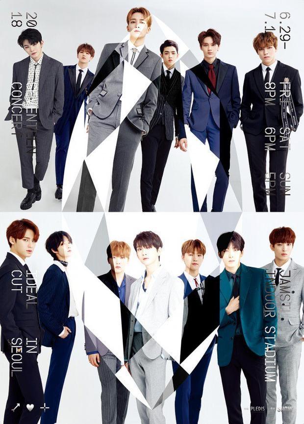 Seventeen tổ chức2018 Seventeen Concert Ideal Cut in Seoul dưới sự chào đón nhiệt tình của người hâm mộ.