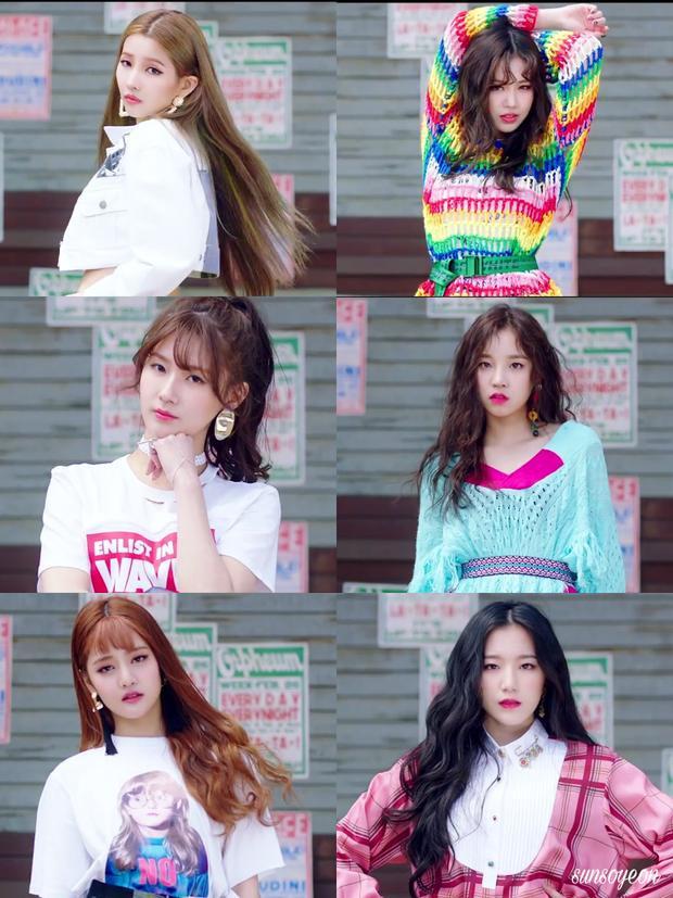 (G)I-DLE chỉ có 6 thành viên nhưng tới tận 4 quốc tịch khác nhau: Jeon Soyeon (Hàn Quốc), SooJin (Hàn Quốc), Miyeon (Hàn Quốc), YuQi (Trung Quốc), Minnie (Thái Lan) và Shuhua (Đài Loan).