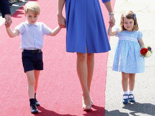 Hoàng tử George và Công chúa Charlotte đóng góp hàng tỷ USD cho nền kinh tế Anh. Ảnh: Getty