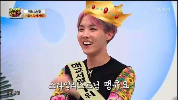 Và ông hoàng aegyo của BTS đã thuộc về J-Hope.