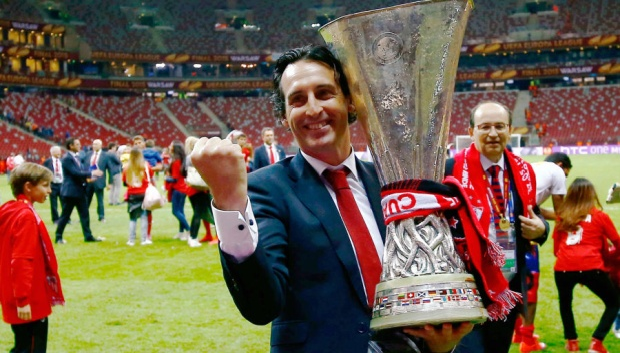 UnaiEmery từng giúp Sevilla 3 lần liên tiếp vô địchEuropa League