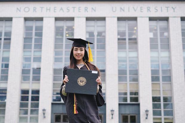 Hot girl Sài thành vừa tốt nghiệp đại học và có ý định học lên cao học.