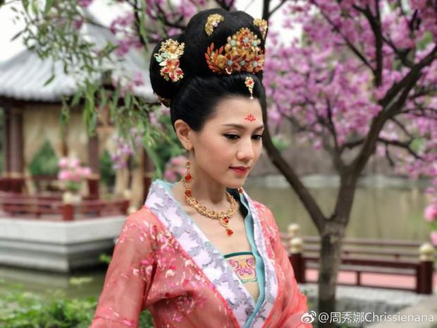 Vai diễn của Châu Tú Na trong Thâm cung kế bị cắt bỏ hoàn toàn vì phong sát?
