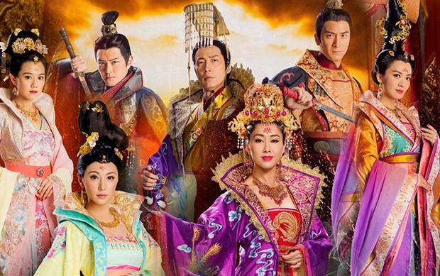 Trong khi đó hình ảnh poster trước đây được nam chính Mã Tuấn Vỹ đăng lên mạng xã hội vẫn còn hình ảnh của Trịnh hoàng hậu - Châu Tú Na.