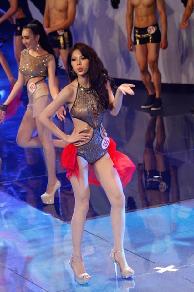 Trong quá trình tham gia Siêu mẫu Việt Nam 2015, cô được đánh giá là một thí sinh có ngoại hình nổi bật. Đó là một trong những lý do giúp cô chinh phục được ngôi vị cao nhất mùa giải năm đó.