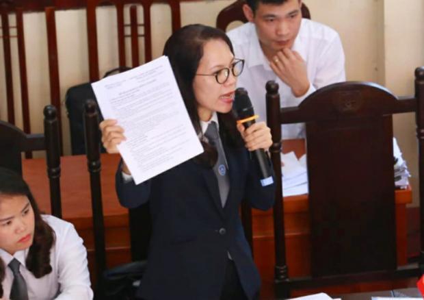 Luật sư Trần Hồng Phúc, người bào chữa cho bị cáo Hoàng Công Lương.