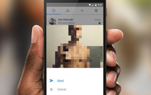 Người dùng nghi ngờ hình ảnh nhạy cảm của mình đang được chia sẻ có thể liện hệ một tổ chức đối tác của Facebook để đăng ký. Sau đó, người dùng được gửi một đường link đăng tải hình ảnh chỉ có thể sử dụng được một lần.