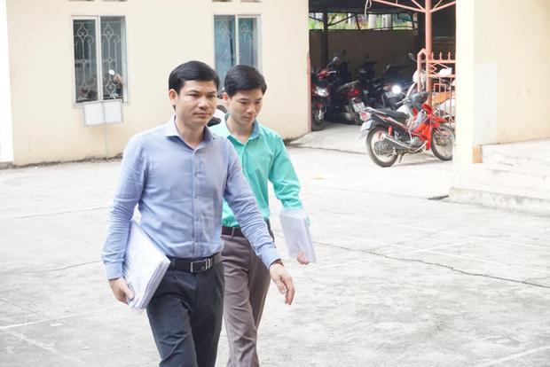 Bị cáo Hoàng Công Lương đến phiên tòa.