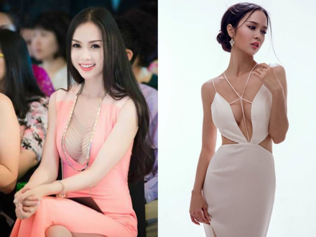 Vũ Ngọc Anh: Thuở mới đi thi Hoa hậu Việt Nam 2012 cô sở hữu vòng một khá khiêm tốn và nhan sắc chưa thật sự nổi bật. Nhưng sau đó cô cũng chính thức gia nhập đường đua với những mỹ nhân khoe vòng vòng khủng trong showbiz.