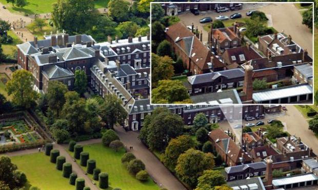 Vua William III và Nữ hoàng Mary II đã mua lại căn nhà Nottingham chỉ với 20.000 bảng Anh vào năm 1689. Ảnh: PA