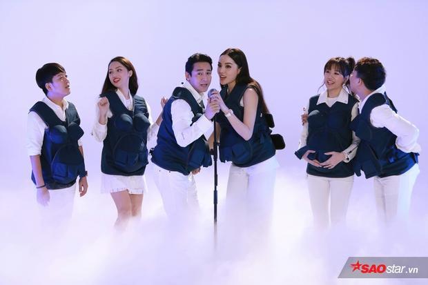 6 nghệ sĩ tham gia chương trình xuất hiện trong tập đầu Khi đàn ông mang bầu.