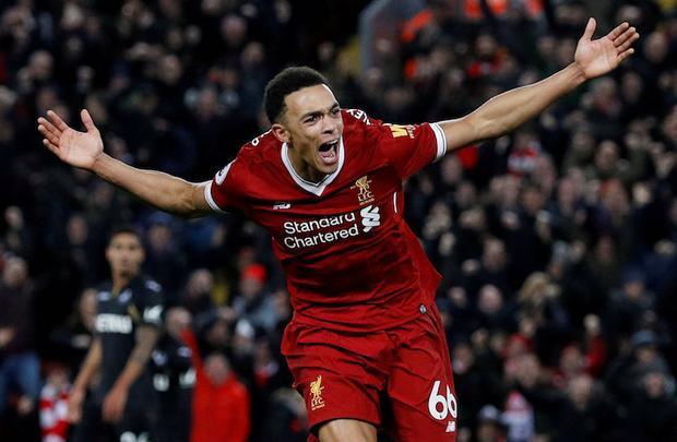 Alexander-Arnold ngày càng trưởng thành trong màu áo Liverpool