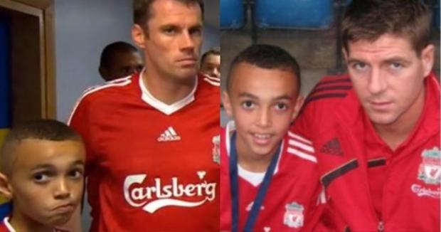 Alexander-Arnold yêu Liverpool từ bé và luôn ngưỡng mộ các ngôi sao của The Kop.