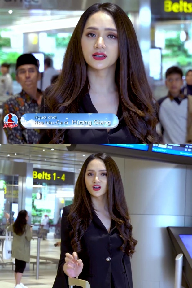 Hương Giang sang tận Singapore để tận tay chạm vào chiếc áo bầu diệu kỳ.