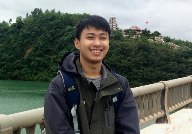 Thế Quỳnh nhắc tới tình cảm đặc biệt với vùng đất Quảng Bình trong bài luận. Ảnh:NVCC