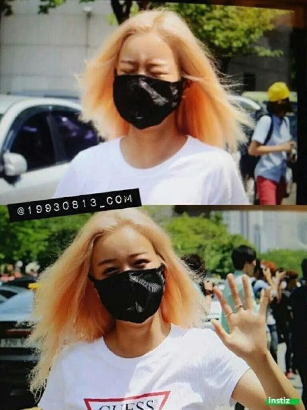 """Mái tóc tiêu điều của Bomi (Apink) đã trở thành """"thương hiệu"""" trong Kpop."""