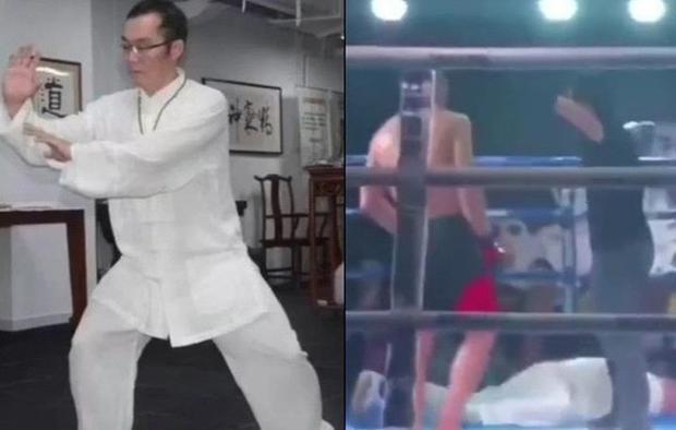 Cao thủ từng biểu diễn võ điện giật bị võ sĩ nghiệp dư đấm bất tỉnh!