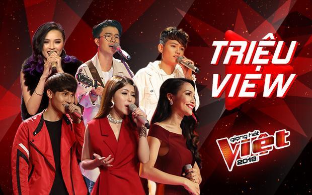 Không chỉ gây bão Trending, đường đua The Voice còn khởi đầu bằng loạt tiết mục triệu view này!