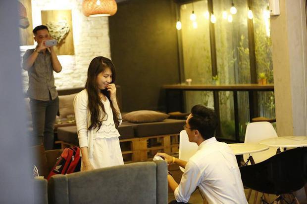 Dũng đã dành cho Thanh một màn cầu hôn đáng nhớ.