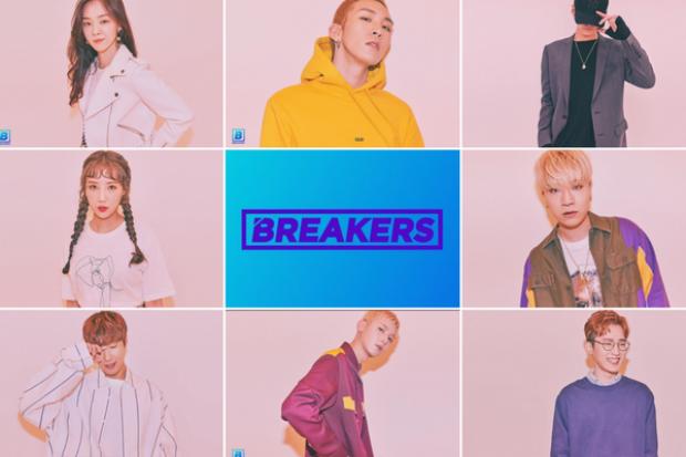 BREAKERS là chương trình được sản xuất bởi Mnet, có 8 ca sĩ kiêm nhạc sĩ tham gia, họ sẽ thể hiện ca khúc do chính mình sáng tác qua các vòng thi.