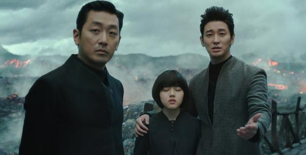 """""""Tài tử"""" Ha Jung Woo, Joo Ji Hoon và diễn viên nhí Kim Hyang Gi."""