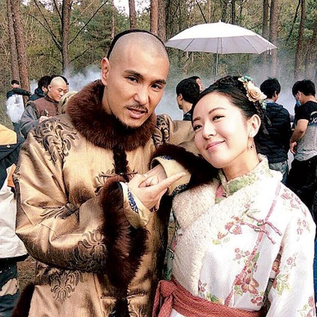 Hình ảnh hậu trường của cặp đôi Trần Triển Bằng, Đường Thi Vịnh