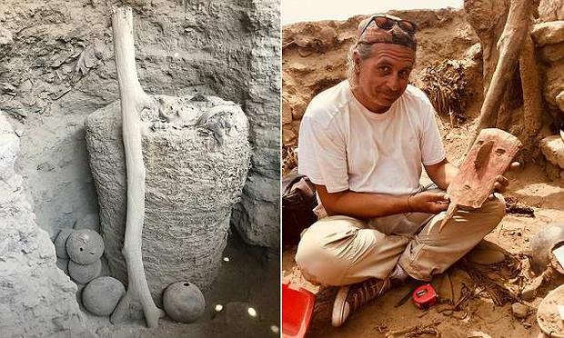 Các nhà khảo cổ phát hiện các phòng tang lễ cùng
