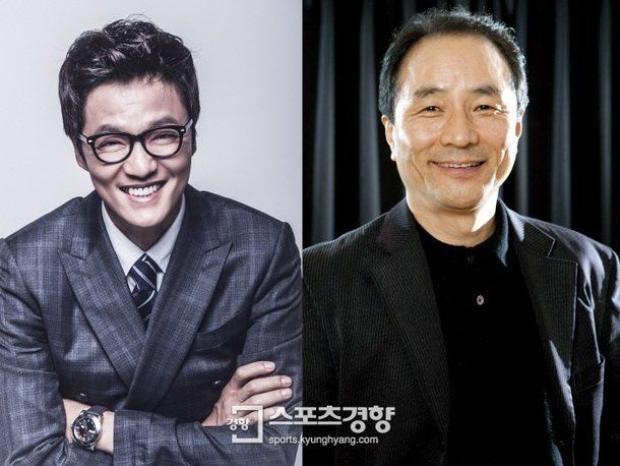 Jo Han Chul (trái) vàKim Myung Gon (phải).