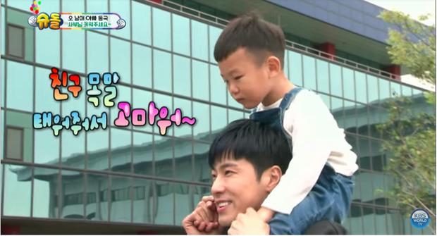 Daebak đã xem Yunho là bạn và nói lời cảm ơn đầy ý nghĩa khi anh chàng cõng mình.