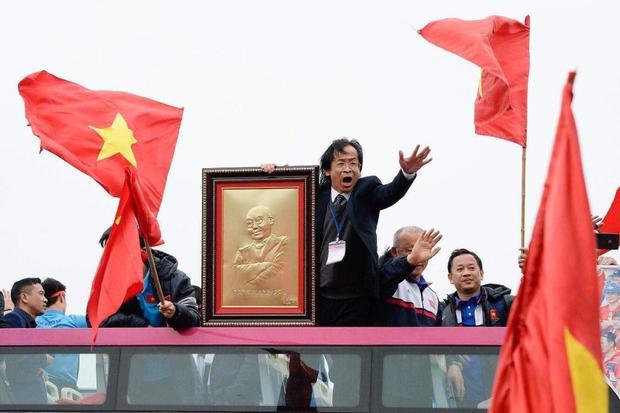"""Ông Nguyễn Lân Trung từng """"dọa"""" Lê Công Vinh không được lên ĐTVN. Ảnh: Tuổi trẻ"""