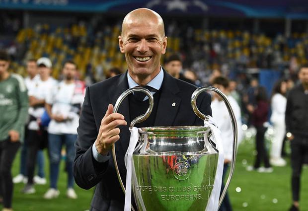 HLV Zidane làm nên lịch sử.