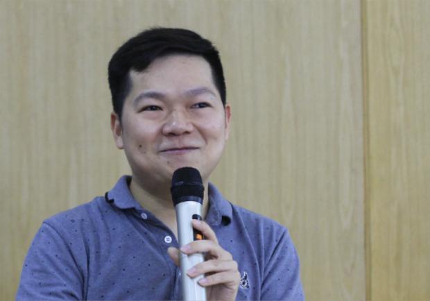 Anh Nguyễn Chí Hiếu khẳng định điểm số không nói lên được điều gì. Ảnh: Dương Tâm