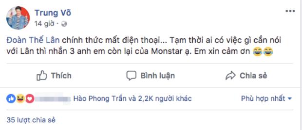 Status chia sẻ việc GREY-D mất điện thoại của KEY không ngờ lại nhận về vô số icon cười thích thú từ netizen.