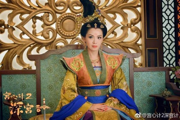 Tạo hình Thái Bình công chúa (Trần Vỹ) uy nghiêm trong phim